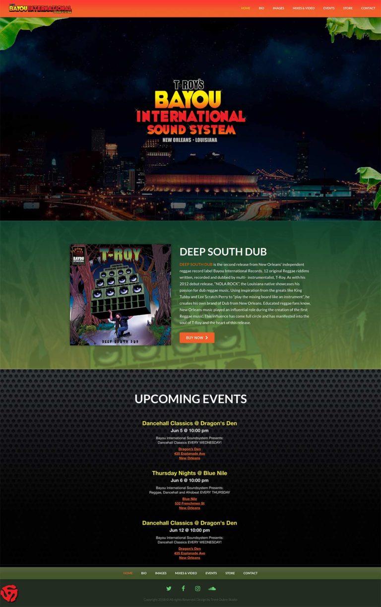 Bayou International Website