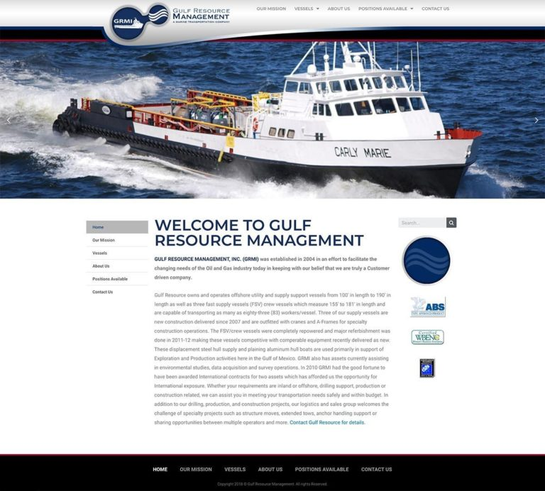Gulf Resource Management Website