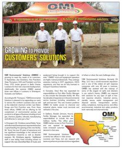 OMI Environmental Solutions Print Ad