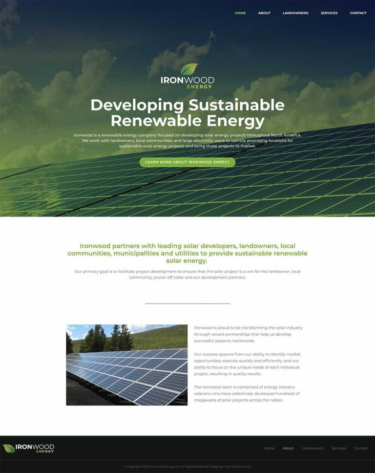 Ironwood Energy Website